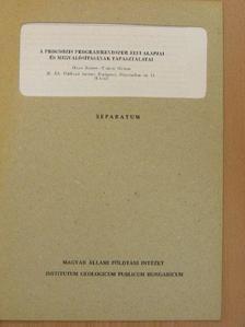 Haas János - A prognózis programrendszer elvi alapjai és megvalósításának tapasztalatai [antikvár]