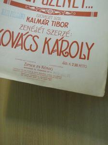Kalmár Tibor - Egy dal, egy csók, egy üzenet... [antikvár]