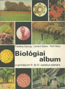 Dr. Lénárd Gábor - Biológiai album [antikvár]