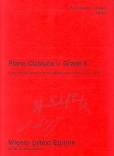 PIANO CLASSICS @ GRADE 8 WIENER URTEXT AUSGABE
