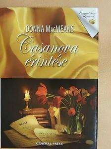 Donna MacMeans - Casanova érintése [antikvár]