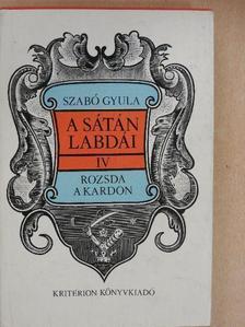 Szabó Gyula - A sátán labdái IV. [antikvár]