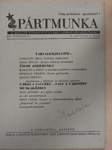 Konok Ferenc - Pártmunka 1946. december 15. [antikvár]