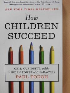 Paul Tough - How Children Succeed [antikvár]