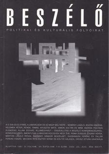 Kiss Ilona - Beszélő 2002 7-8. szám [antikvár]