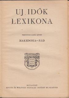 Herczeg Ferenc - Uj idők lexikona XVIII. kötet [antikvár]