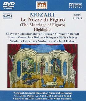 MOZART - LE NOZZE DI FIGARO DVD HIGHLIGHTS