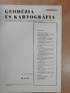 Bácsatyai László - Geodézia és kartográfia 1978/5. [antikvár]