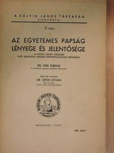 Bogdán Gyula - Az egyetemes papság lényege és jelentősége [antikvár]