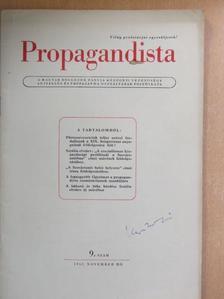 Balyó Mária - Propagandista 1952. november [antikvár]