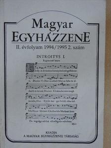 Dobszay László - Magyar egyházzene 1994/1995 2. [antikvár]