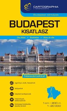 Cartographia - Budapest autóatlasz 1:20 000 (kicsi)
