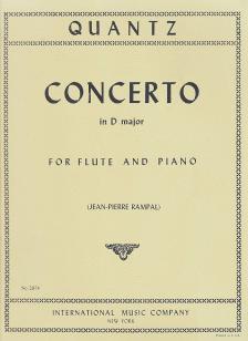 PERGOLESI - CONCERTO IN D MAJOR - FOR FLUTE AND PIANO (JEAN-PIERRE RAMPAL)
