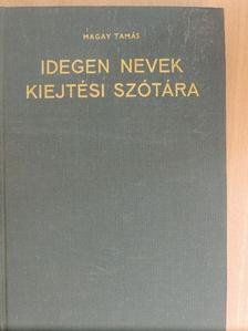 Borza Lucia - Idegen nevek kiejtési szótára [antikvár]