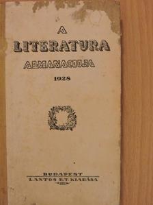 Balassa József - A Literatura almanachja 1928 [antikvár]