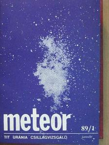 A. Hollis - Meteor 1989. január-december [antikvár]