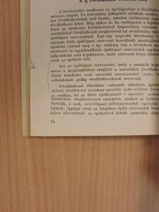 Gracsev - Útmutató és irodalom az építőipari statisztikusok kötelező vizsgájához [antikvár]