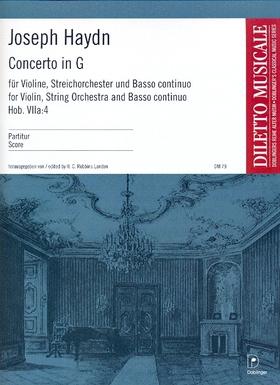 XXII: 14 Joseph Haydn Harmoniemesse B-Dur Hob Stimme Violine II