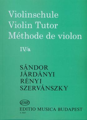 SÁNDOR - HEGEDŰISKOLA IV/a (SÁNDOR-JÁRDÁNYI-RÉNYI-SZERVÁNSZKY)