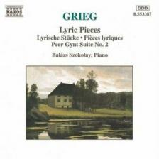 GRIEG - LYRIC PIECES CD SZOKOLAY
