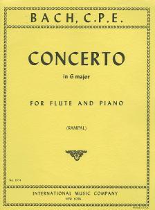 PERGOLESI - CONCERTO IN G MAJOR - FOR FLUTE AND PIANO (JEAN-PIERRE RAMPAL)