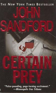 John Sandford - Certain Prey [antikvár]