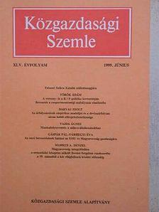Darvas Zsolt - Közgazdasági Szemle 1999. június [antikvár]