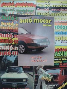 Almássy Tibor - Autó-Motor 1981. január-december/Autó-Motor Magazin '81 nyár-ősz [antikvár]
