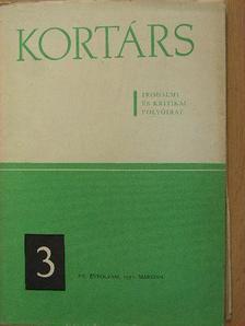 Baranyi Ferenc - Kortárs 1971. március [antikvár]