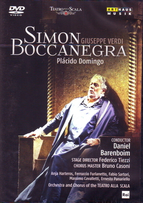 Verdi - SIMON BOCCANEGRA DVD DOMINGO,BARENBOIM