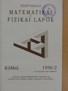 Fried Ervin - Középiskolai matematikai és fizikai lapok 1996. február [antikvár]