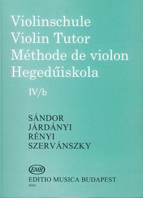 SÁNDOR - HEGEDŰISKOLA IV/b (SÁNDOR-JÁRDÁNYI-RÉNYI-SZERVÁNSZKY)