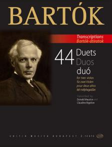 Bartók Béla - 44 DUÓ KÉT MÉLYHEGEDŰRE (DONALD MAURICE- CLAUDINE BIGELOW) BARTÓK ÁTIRATOK