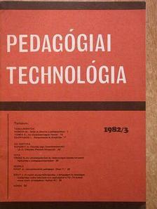 Dr. Hámori Miklós - Pedagógiai Technológia 1982/3. [antikvár]