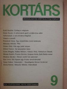 Ablonczy László - Kortárs 1975. szeptember [antikvár]