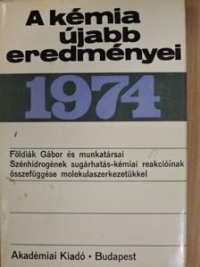 Földiák Gábor - A kémia újabb eredményei 20. [antikvár]