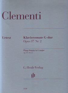 CLEMENTI - KLAVIERSONATE G-DUR OP.37 NR.2 URTEXT (SONJA GERLACH / HANS-MARTIN THEOPOLD)