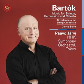BARTÓK - MUSIC FOR STRINGS, PERCUSSION AND CELESTA CD PAAVO JARVI