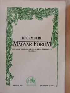 Balogh Péter - Decemberi Magyar Fórum 1995. [antikvár]