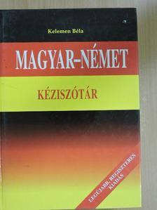 Magyar-német kéziszótár [antikvár]