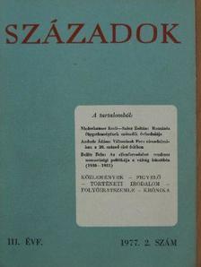 Dévényi Ivánné - Századok 1977. (nem teljes évfolyam) [antikvár]