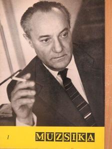 Asztalos Sándor - Muzsika 1967. január [antikvár]