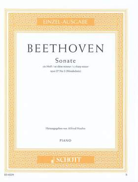 "BEETHOVEN - SONATE CIS-MOLL ""MONDSCHEINSONATE"" - OP 27/2 (ALFRED HOEHN)"