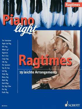 RAGTIMES. PIANO LIGHT. 19 LEICHTE ARRANGEMENTS