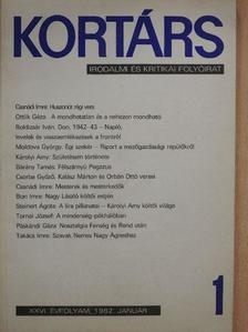 Bárány Tamás - Kortárs 1982. január [antikvár]