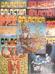 Andre Norton - Galaktika 100-102., 104-109.,111. (nem teljes évfolyam) [antikvár]