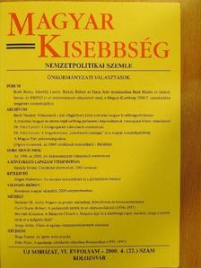 Bárdi Nándor - Magyar Kisebbség 2000/4. [antikvár]