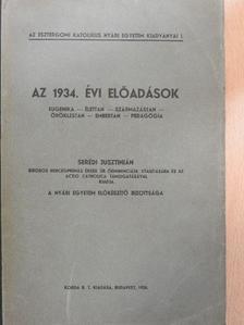 Ábrahám Ambrus - Az 1934. évi előadások [antikvár]