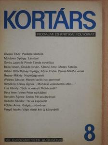 Babics László - Kortárs 1976. augusztus [antikvár]