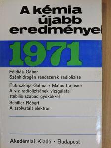 Cserép György - A kémia újabb eredményei 4. [antikvár]